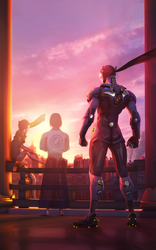 Overwatch: The Morning and The Past by PaintIsPainful