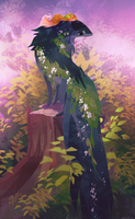 [Esk] Forest Friends by sordid-dessert