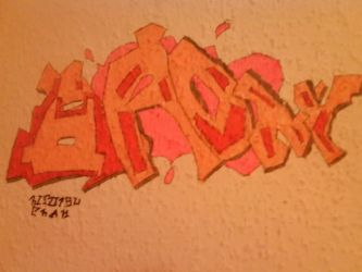 First Graffiti after 4 years.... by pro55series