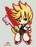 SD Roxas by bassanimation