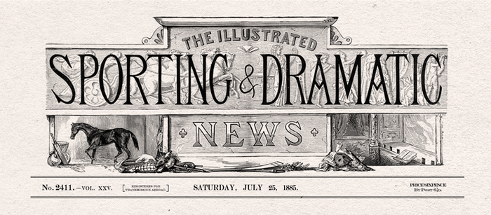 Prop 4 - Sporting and Dramatic News Newspaper by The-Dark-Metropolis
