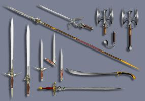 Weapon Designs by TimBakerFX