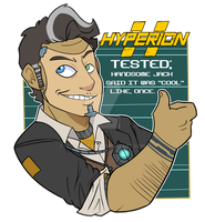 Hyperion Tested... by itsaaudraw