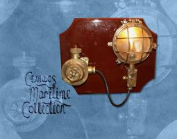 Ship deck light and isolator by CemaesMaritime
