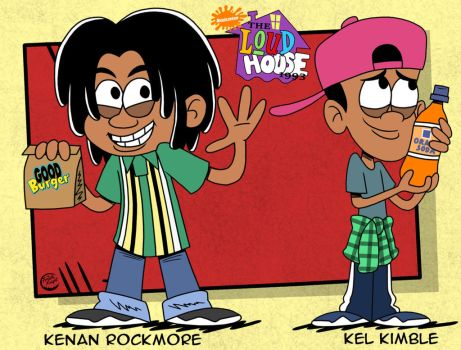 The Loud House 90s AU Kenan And Kel by TheFreshKnight