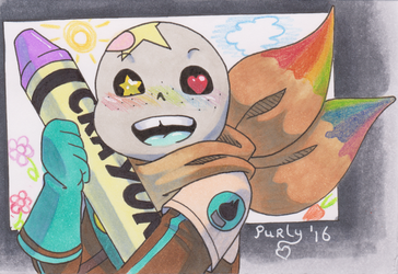 ATC SPECIAL #1 - Crayon by Purly