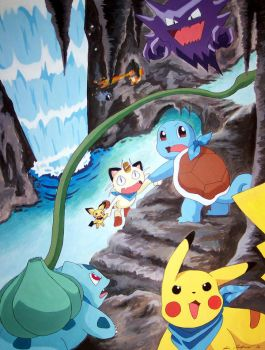 Pokemon Mystery Dungeon by Chamel413