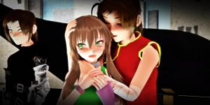 [MMD ART TRADE] China, he's staring at us again... by Alice-HumanSacrifice