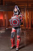 Athena Borderlands: The Pre-Sequel Cosplay by Meariku