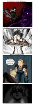Dragon age comic by DKYingst