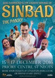 Sinbad Poster by timmoproductions