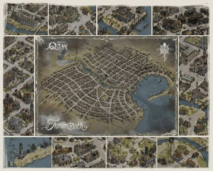 Innsmouth map - presentation by qpiii