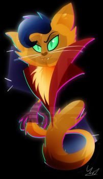 Capper the Cat by Ilona-the-Sinister
