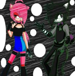 bruno slacl black edtion and anamaria darkness by userbruno16