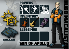 Hugo Macalister: Son of Apollo by OrionStorm