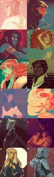 TES Color Palette Dump by the-Orator
