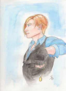 Watercolor Leon by AirenWoodmoon