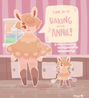 {FLUFFERBUN} annie has moved in! by panstarry