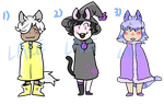 Kitty kids adopts CLOSED by AngryAnimeBoys