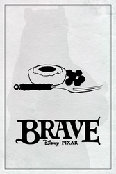 Brave poster (2012 in Hindsight Series #18) by ll-og