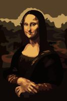 Mona Lisa by jennyweatherup