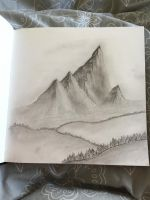 Sketchy mountains by TheGamer5000