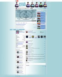 Sean Klitzner - YouTube Layout by cyspence