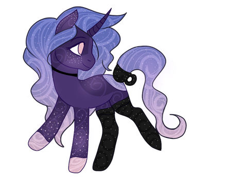 AUCTION: Pastel Galaxy -CLOSED- by mckeekee