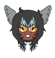 Icarus Chibi Headshot by Jellyfish-Magician