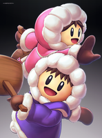 Ice Climbers (Ultimate) by hybridmink