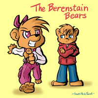 The Berenstain Bears 001 by SouthParkTaoist