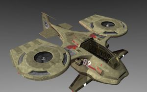 Starship Troopers Skimmer by bcampo