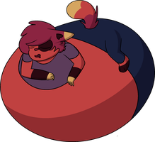 Tired and inflated by Sophila