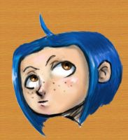 Coraline Doodle by Sparky808
