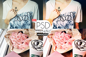 PSD Coloring 021 by vesaspring