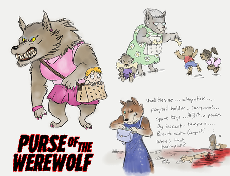 Purse of the Werewolf by Viergacht