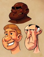 Cartoon Faces by Ryan Lord by RyanLord