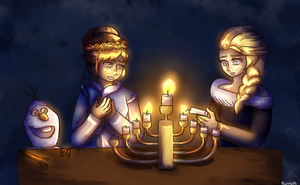 Happy Hannukah by AnimeInMyPocket