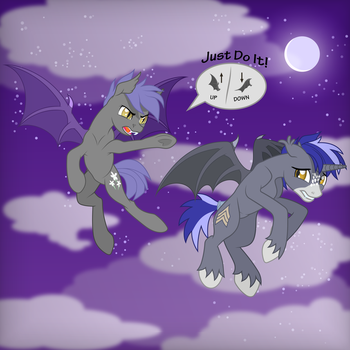 Nightguard trainings by DolphinFox