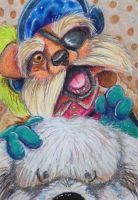 ACEO: Sir Didymus and Ambrocious by DanielleMWilliams