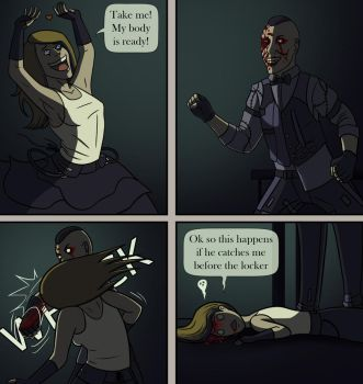 Outlast WB: Dissapointment by CPT-Elizaye