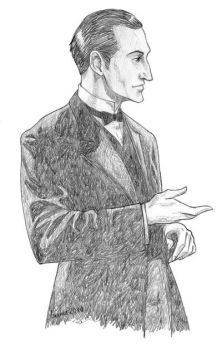 Giving Holmes - pencil by Windmaedchen