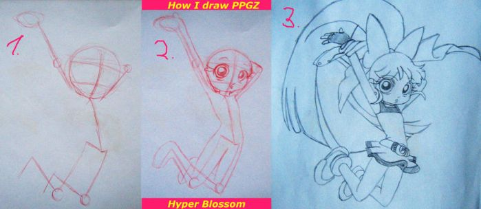 LittleTutorial:How I draw PPGZ by PastellTofu