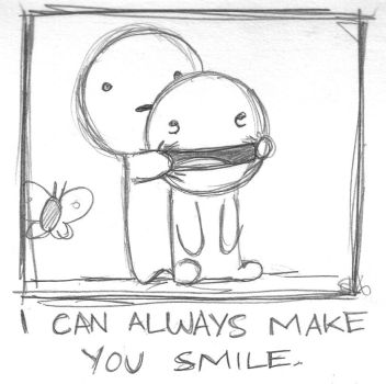 i can always make you smile by boobookittyfuck