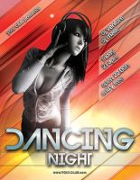 Dancing Night - Flyer .psd by isoarts2