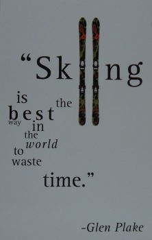 Ski poster by Ty76