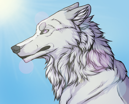 .:P:. Shining Sun by KolaWolf