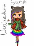 Autumn version of Me by Sisixy