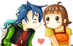 :Harvest Moon: Luke x Akari by Anilede