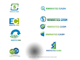 EmiratesCash.com Logos by zamir